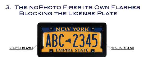 Flash-Fooling Car Plates