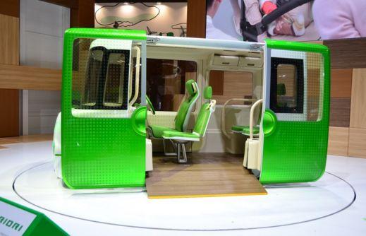 Miniature Concept Buses