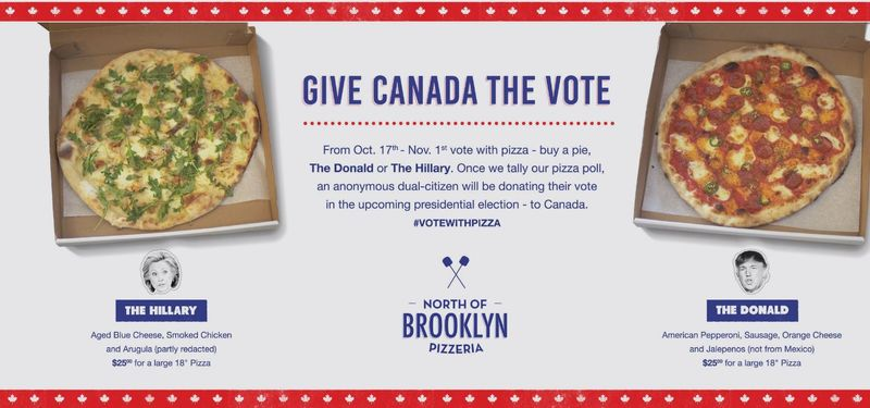 Canadian Pizza Elections