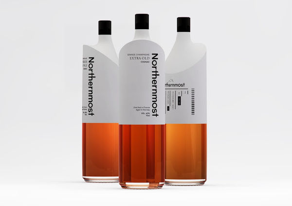 Northernmost Cognac packaging