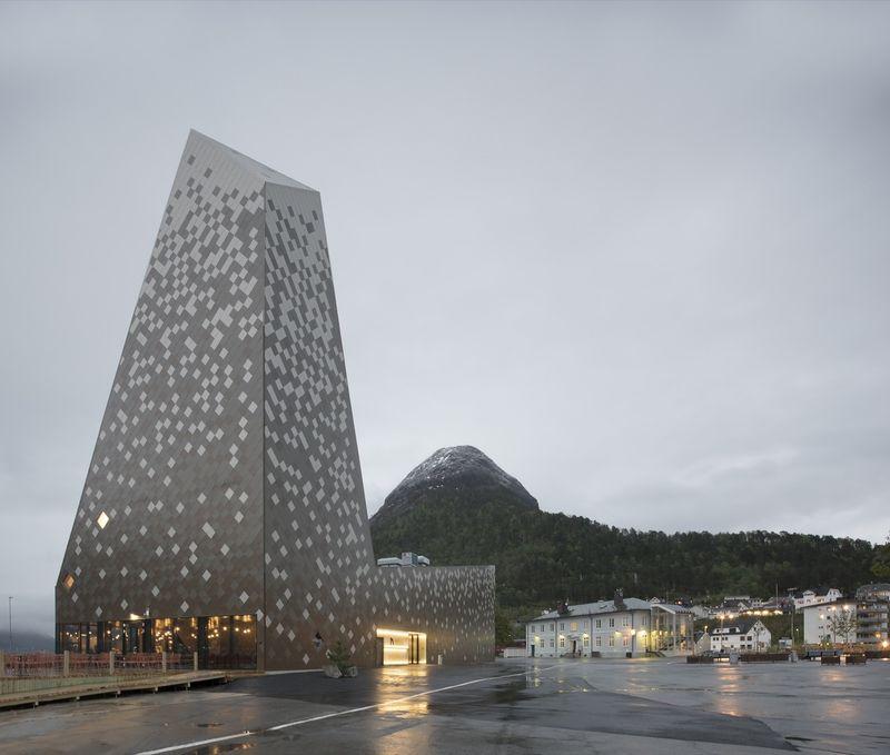 Precipitous Mountaineering Buildings