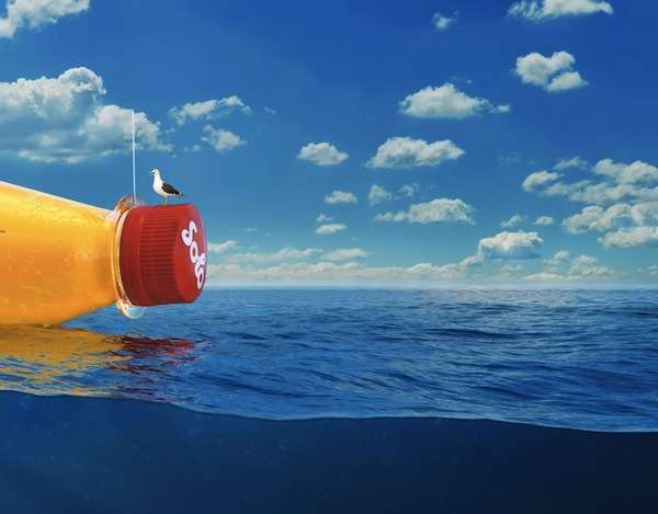 Boat-Sized Soda Bottles