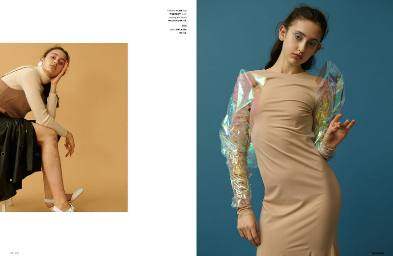Conceptual 90s Fashion