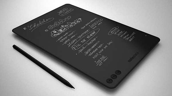 Low-Tech Minimalist Tablets