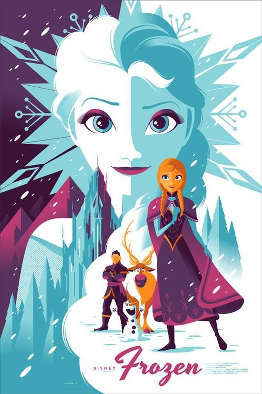 Re-Imagined Disney Film Posters