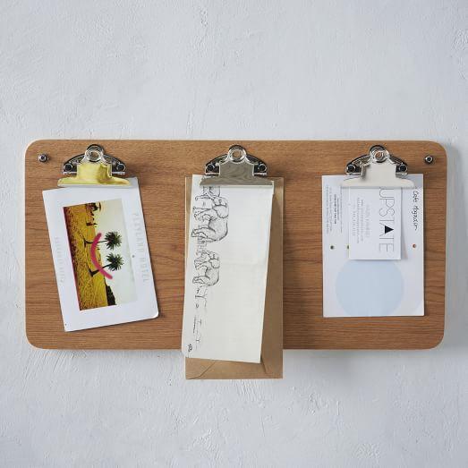 Clipboard Wall Storage
