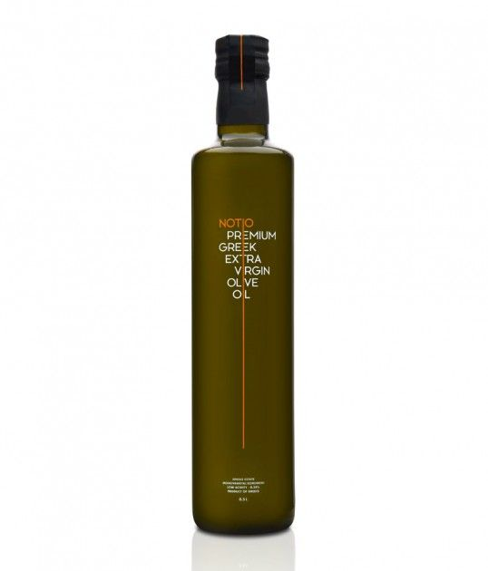 Dripped Olive Oil Branding