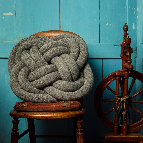 Scout-Knotted Pillows