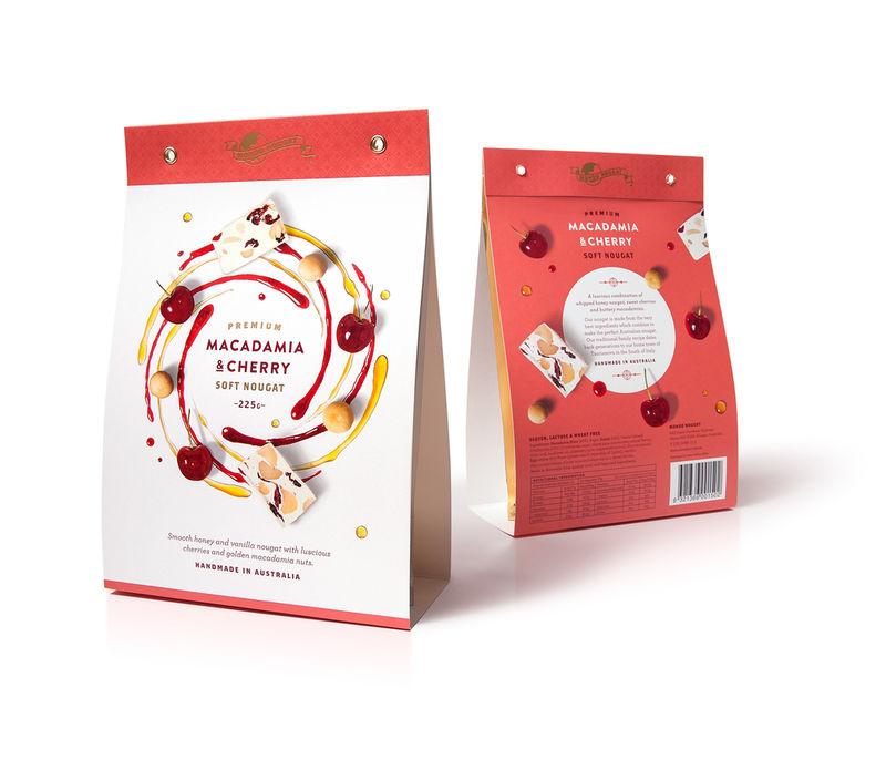 Flavorful Nougat Packaging