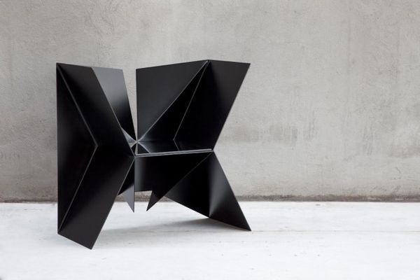 Darkly Geometric Furniture
