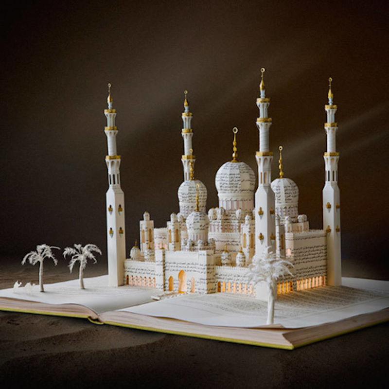 Folkloric Book Sculptures