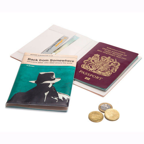 Faux Novel Passport Covers