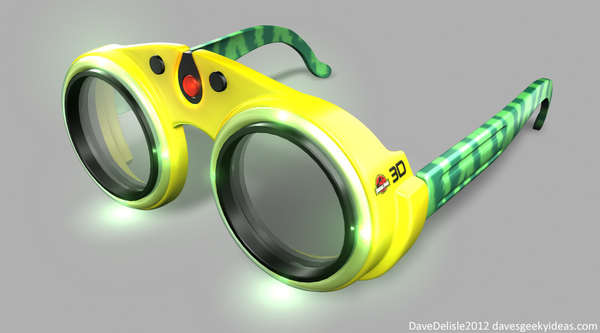 novelty 3d glasses