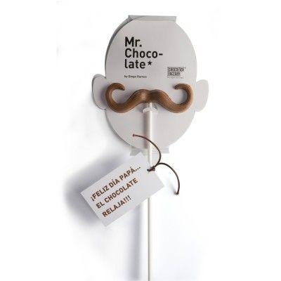 Moustache-Shaped Chocolates