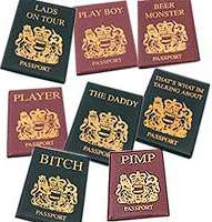 Novelty Passport Covers