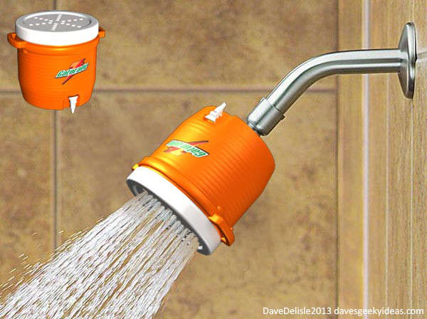 novelty shower head