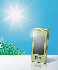 Solar Powered Smartphones