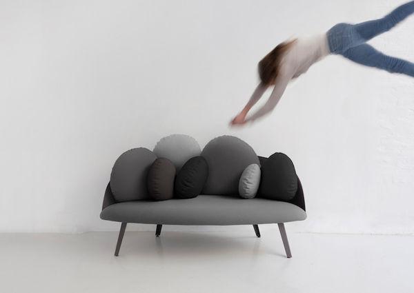 Cloud-Resembling Sofas