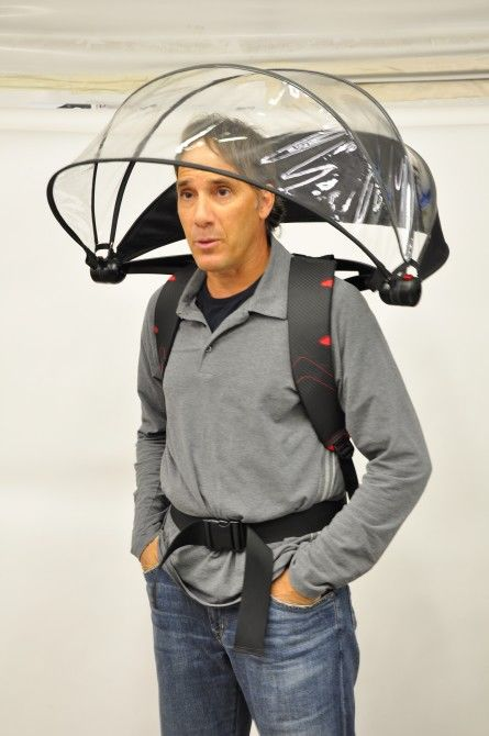 Hands-Free Umbrellas