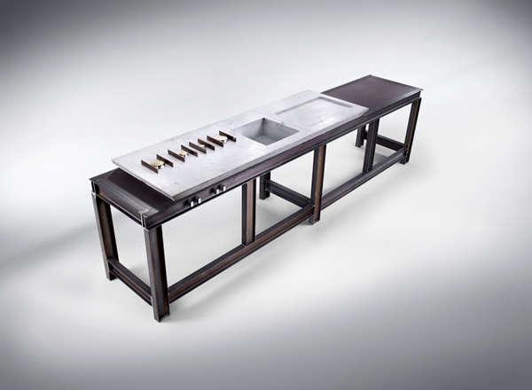 Deluxe Industrial Countertops