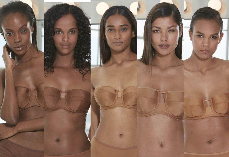 Expansive Nude Lingerie Ranges