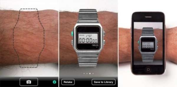 Augmented Reality Watch Apps