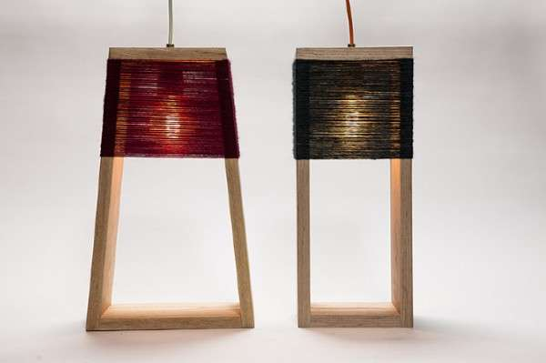 Yarn-Wrapped Lighting