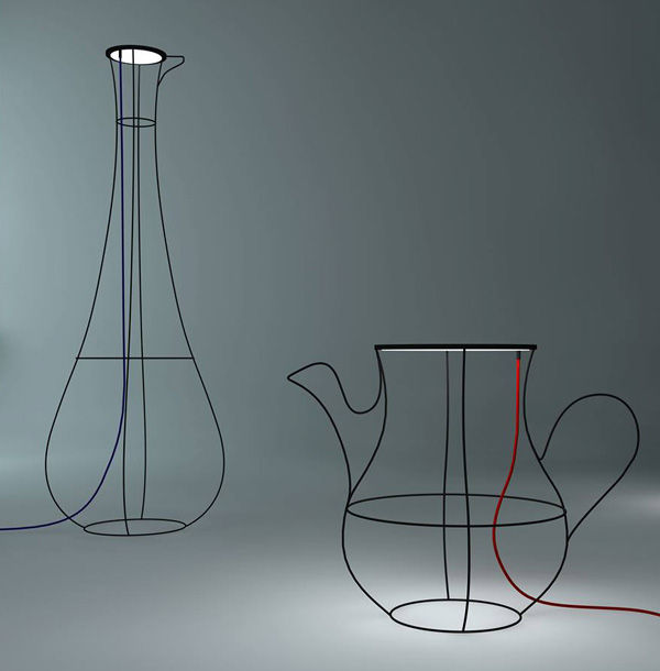 Tableware-Inspired Lighting