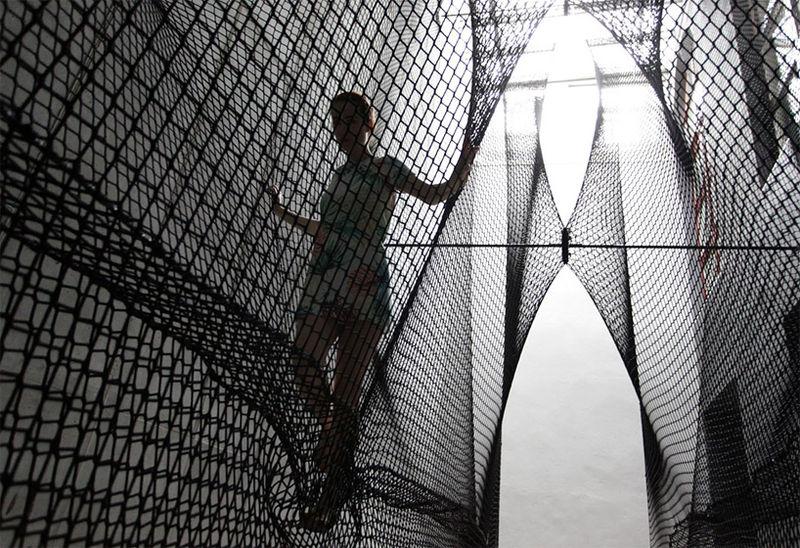 Interwoven Net Installations