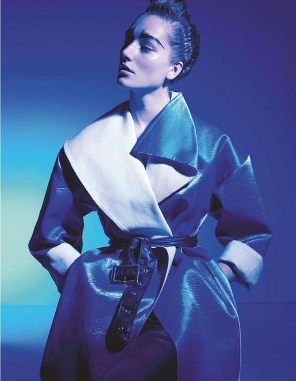 Futuristic Geometric Fashion