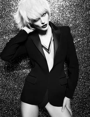 Scintillating Blazer Editorials