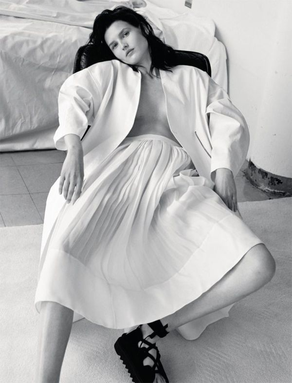 Relaxed Alabaster Editorials