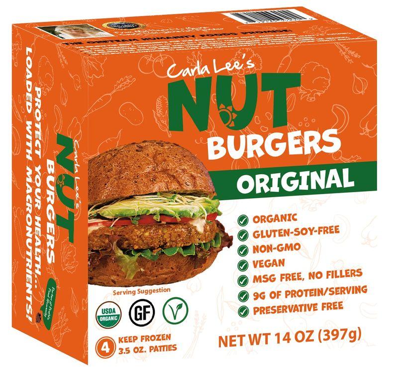 Nut-Based Burgers