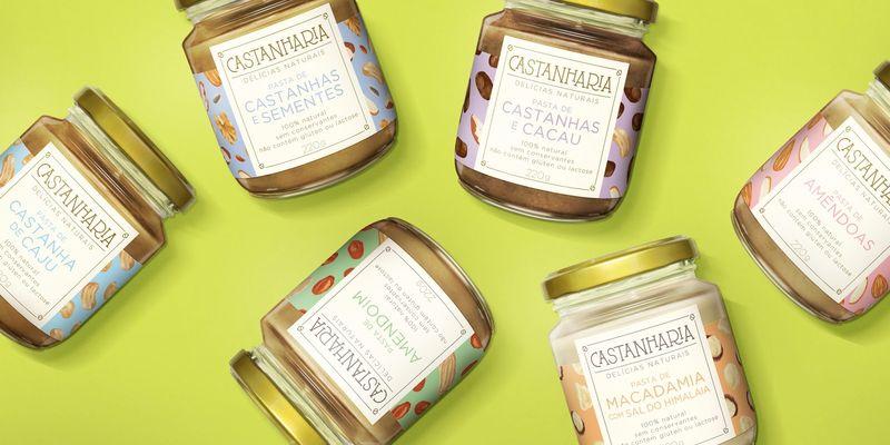 Alternative Nut Butter Jars