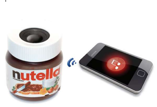 Nutella Bluetooth speaker