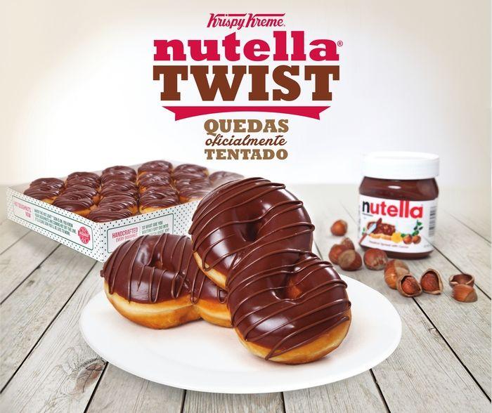 Twisted Hazelnut Donuts
