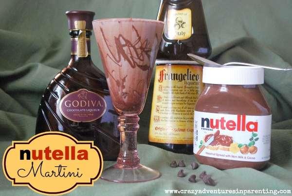 Hazelnut Chocolate Cocktails