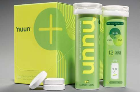 Nuun Sports Hydration Packaging