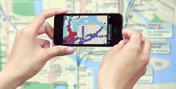 Augmented Reality Transit Maps