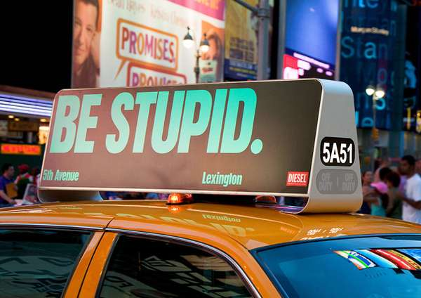 LED Taxi Cab Ads