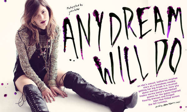 Nylon 'Any Dream Will Do'
