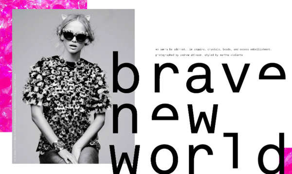 Nylon Magazine 'Brave New World'