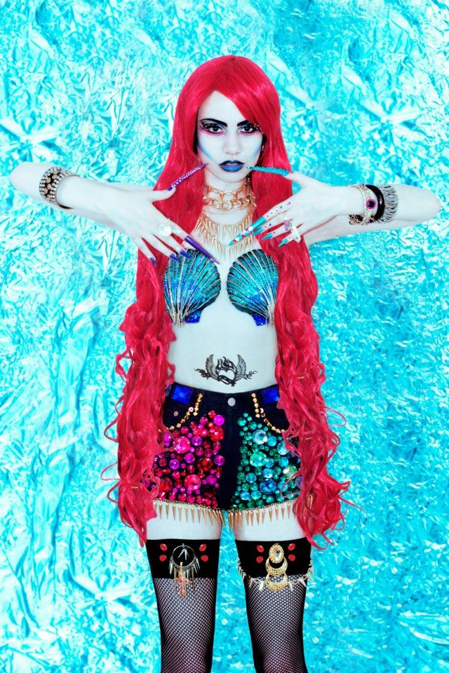 Raver Mermaid Lookbooks