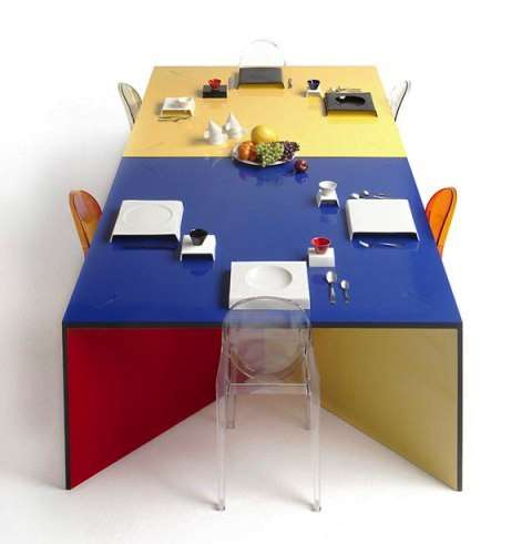 Playful Dinner Tables