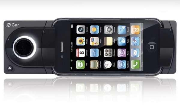 Iphone Car Dock: Smartphone Head Units : O Car IPhone Dock