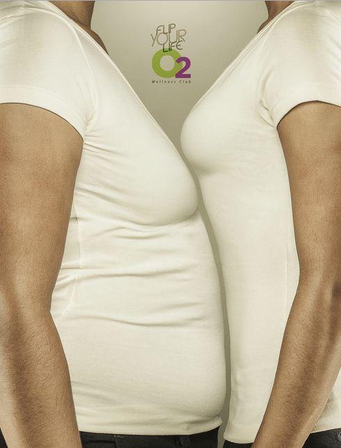 Yin-Yang Fitness Ads