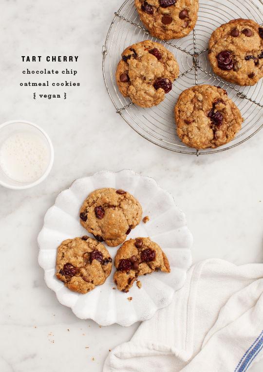Vegan Cherry Biscuits