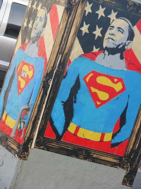 Presidential Street Art