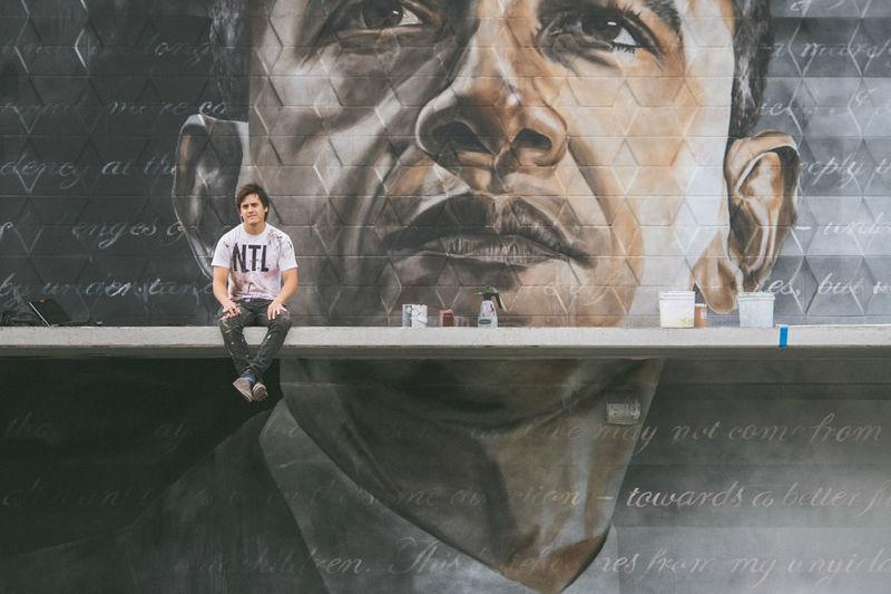Intercultural Political Murals