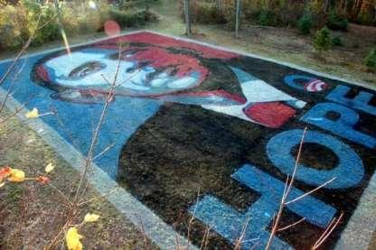 Political Lawn Art